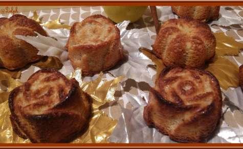 Minis cakes pommes cannelle amande