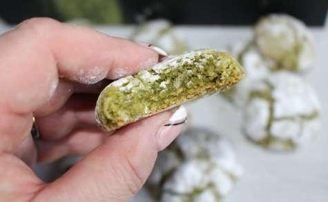 Les Biscuits Craquelés au thé vert Matcha