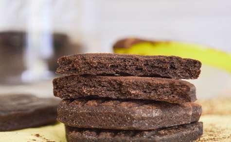 Biscuits sablés au cacao intense