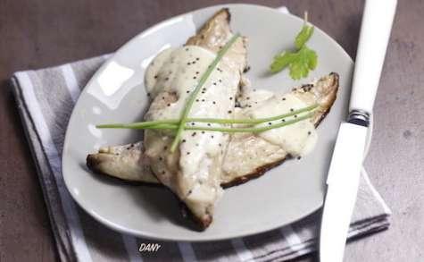 Filets de maquereaux à la crème de moutarde