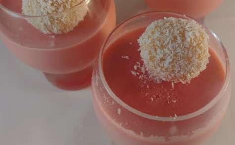 Crème framboise-citron vert