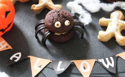 Whoopies araignées pour Halloween