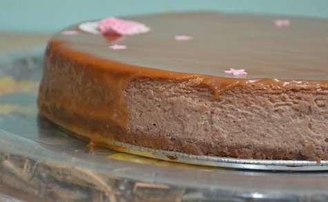 Cheesecake à la noisette