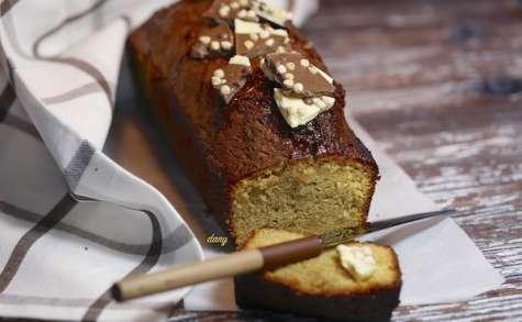 Cake pistache et chocolat blanc