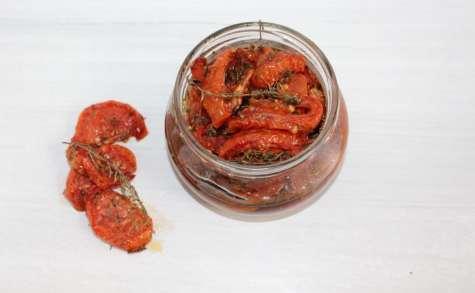 Les tomates séchées au thym et au poivre 5 baies