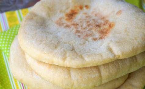 Batbout pain marocain à la farine complète