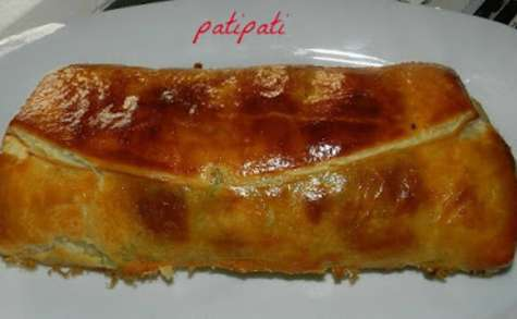 Saumon en croûte avec épinard-crème