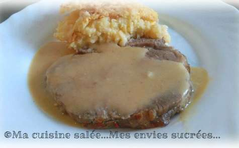 Rôti de porc sauce camembert