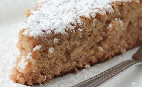 Gâteau aux dattes et fleur d'oranger