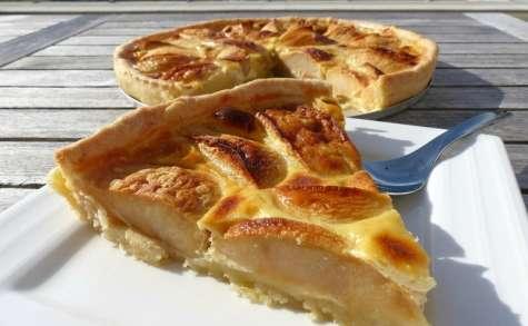 Tarte aux pommes à l'alsacienne