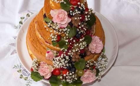 Naked cake ou Nude cake - La Cuisine de Jackie