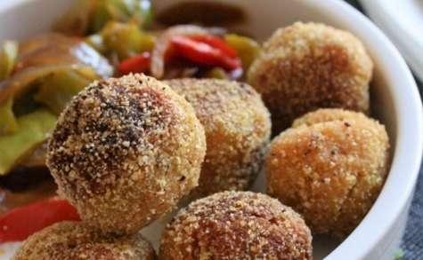 Boulettes lentilles corail-quinoa