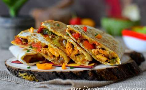 Les quesadillas mexicains