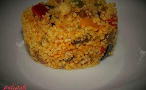 Taboulé aux légumes du sud