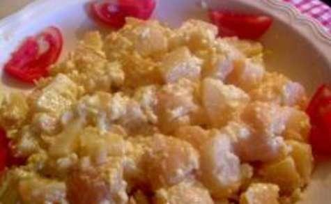 Pommes de terre oeufs mimosas