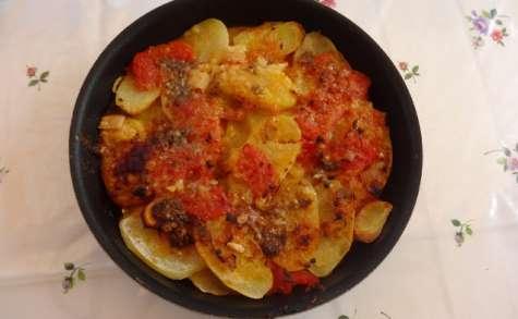 Gratin de pommes de terre à la provençale de Julia Child