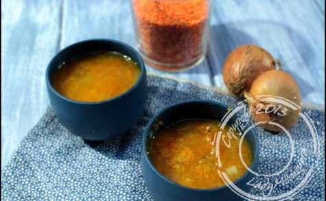 Soupe de butternut rôtie au romarin