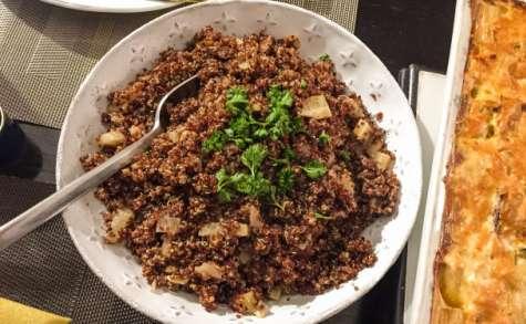 Pilaf de quinoa au fenouil