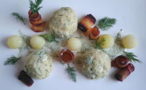 Boulettes de poissons blanc à la vapeur