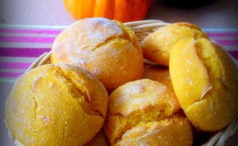 Petits pains doux au potimarron