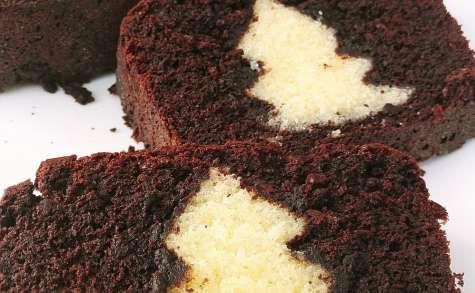 Cake au chocolat surprise de Noel