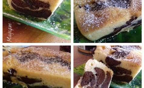 Le gâteau marbré cuit à la vapeur