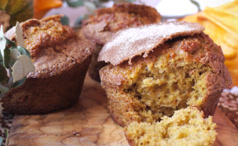 Muffins à la courge de Hongrie et topping cannelle