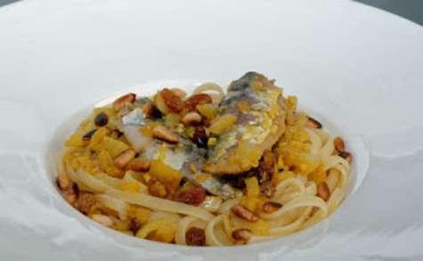 Bucatinis aux sardines