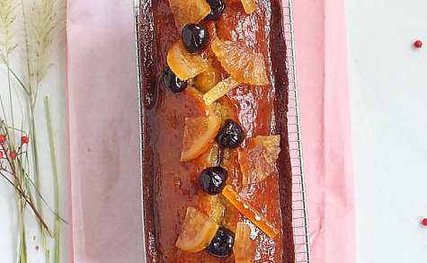 Cake aux fruits par Sébastien Bouillet pour le Lundi Cake كيكة الفواكه المجففة
