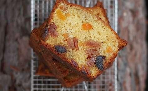 Cake aux poires tapées