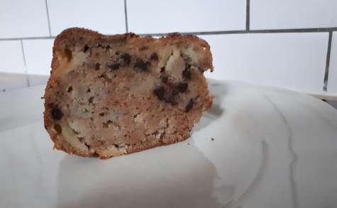 Cake moelleux bananes pommes