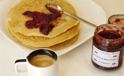 Pancake au lait de soja