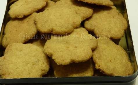 Biscuits au gingembre frais et citron vert