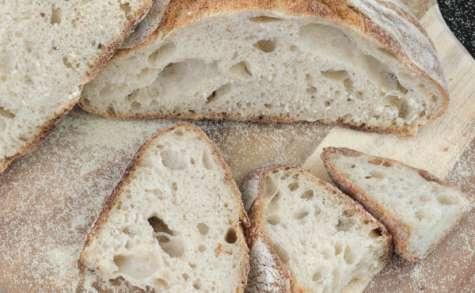Le pain à la semoule au levain