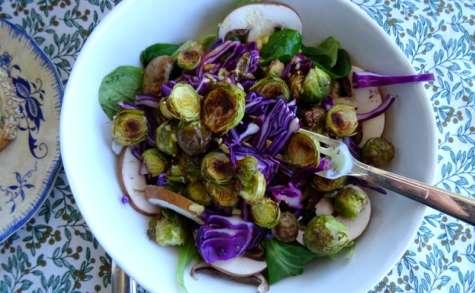 Salade aux choux de Bruxelles