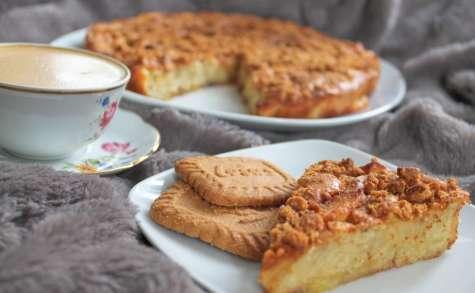 LE gâteau aux pommes et au Speculoos