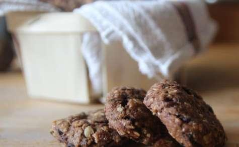 Cookies au chocolat et aux olives