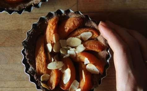 Tartelettes aux abricots et à la vanille