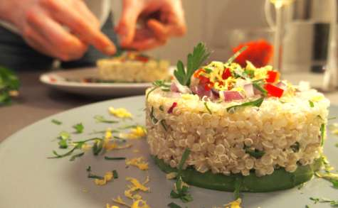Salade de quinoa et avocat