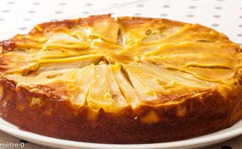 Gâteau fondant aux poires
