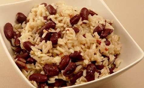 Riz aux haricots rouges