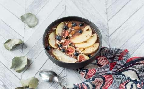 Smoothie bowl de fin d'automne