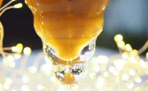 Verrines de Noël facile aux cèpes et thé Pu'Er