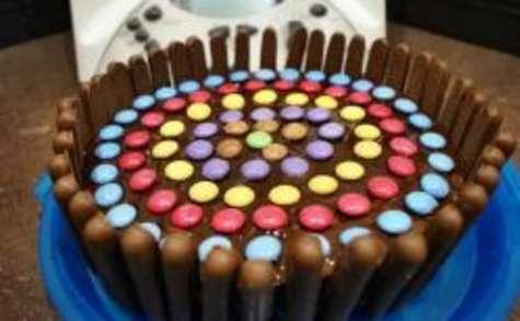 Gâteau finger smarties chocolat au thermomix