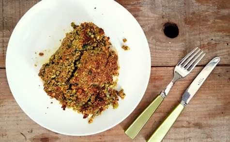 Dos de cabillaud en croûte de pistaches