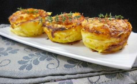 Petits gratins de pommes de terre au Comté