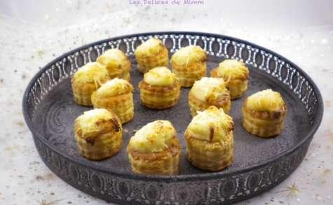 Petites bouchées au fromage pour l'apéro