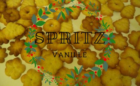 Spritz à la vanille