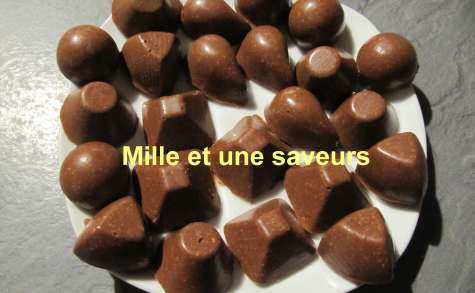 Mes chocolats toblerone aux thermomix