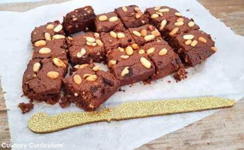 Brownies chocolat et beurre de cacahuètes